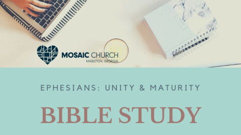 Bible Study: Ephesians Resources