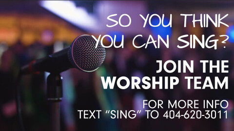 JOIN THE WORSHIP TEAM